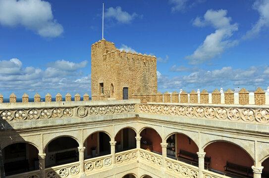 Castillo de Luna actual ayuntamiento de Rota, provincia de Cádiz Andalucía España