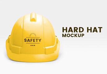 Obraz Engineer Hard Hat Mockup - fototapety do salonu