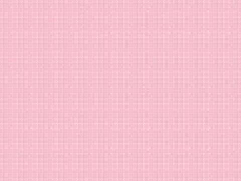 破線の方眼紙、グラフ用紙、ノートの背景素材、イラスト(ピンク背景、白色の破線)