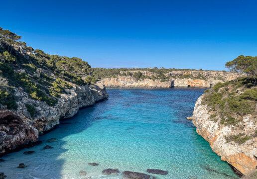 Cala des moro on Mallorca