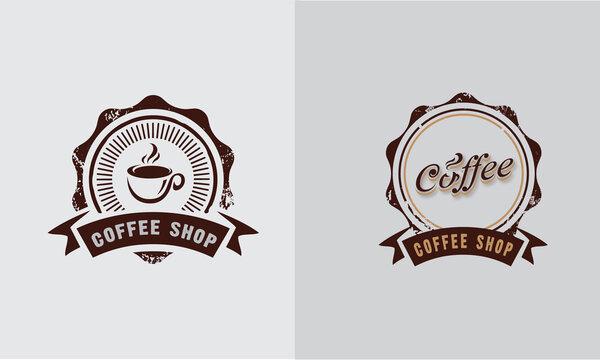 Coffee Cup Logo Vector Illustration