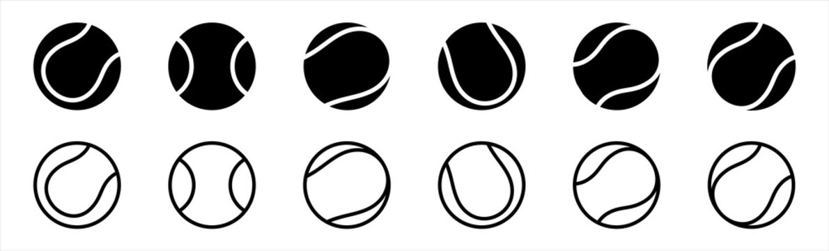 tennis ball icon in trendy flat style isolated on background. tennis ball icon page symbol for your web site design tennis ball icon logo, app, UI. tennis ball icon Vector illustration.