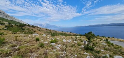 Fototapeta landscape with sky obraz