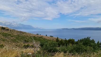 Fototapeta Chorwacja wybrzeże widok na Riwierę Makarska obraz