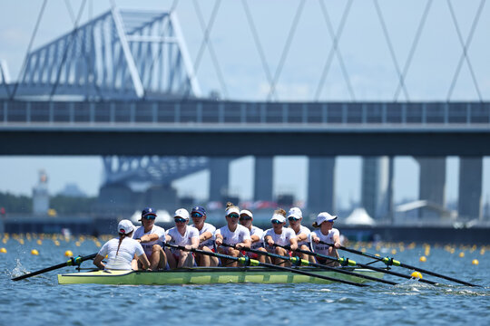 Tokyo 2020 Olympics - Rowing Training Sessions