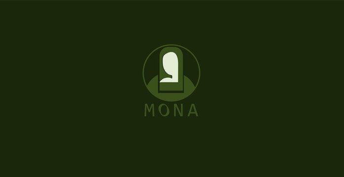 MONA LISA ICON AND LOGO