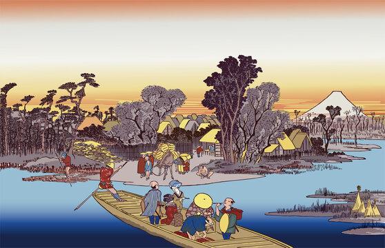 川崎 六郷渡舟