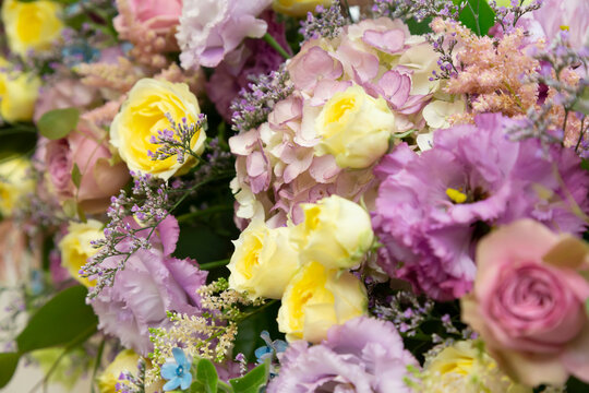 Wedding Takasago colorful rose bouquet