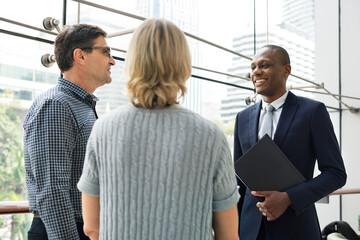 Obraz Business Communication Connection People Concept - fototapety do salonu