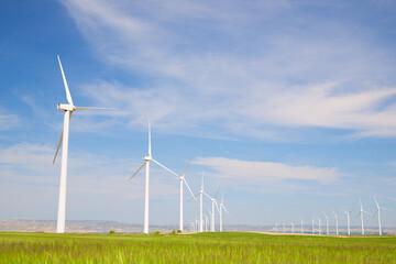 Obraz Renewable energy concept view - fototapety do salonu