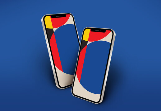 Modern Mobile Phone Mockup