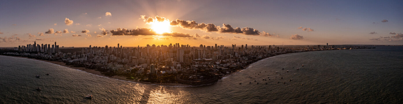 Litoral João Pessoa - PB - Panoramica