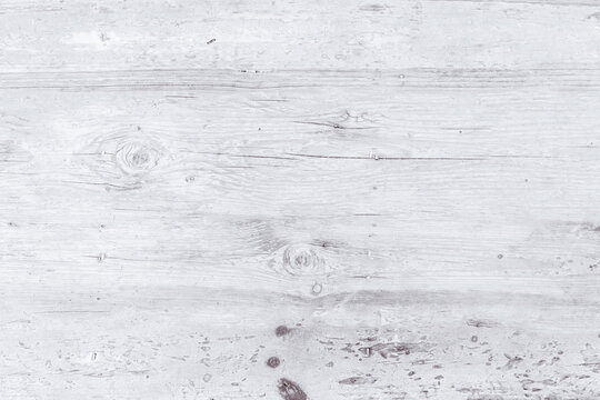 White wood for background, white wooden boards background, Top view of a wooden old table background, Background of old wooden wall, Vintage retro.
