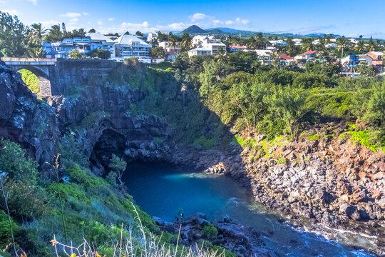 bassin 18, ravine des Cafres, Saint-Pierre, île de la Réunion