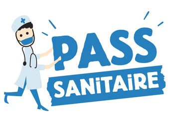 Fototapeta pass sanitaire, virus coronavirus, covid  obraz