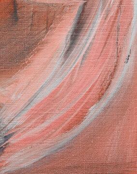 Coral Clay Art Print