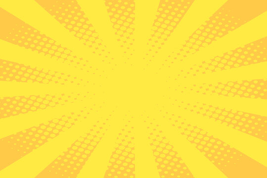 Yellow Cartoon Effect Design Space