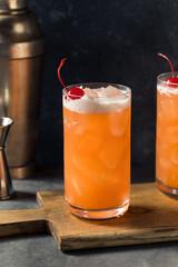 Fototapeta Boozy Refreshing Rum Punch obraz