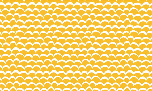 Abstract seamless yellow pattern