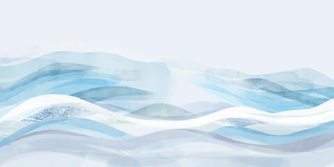 Obraz Abstrakcyjne przestrzenne tło - fototapety do salonu