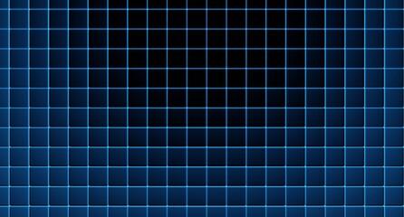 Fototapeta Czarno niebieska kratka tło. 3d rendered obraz