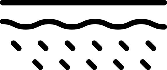 Fototapeta dermatology icon obraz