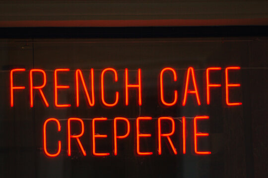 French creperie cafe restaurant cooking cuisine pancake