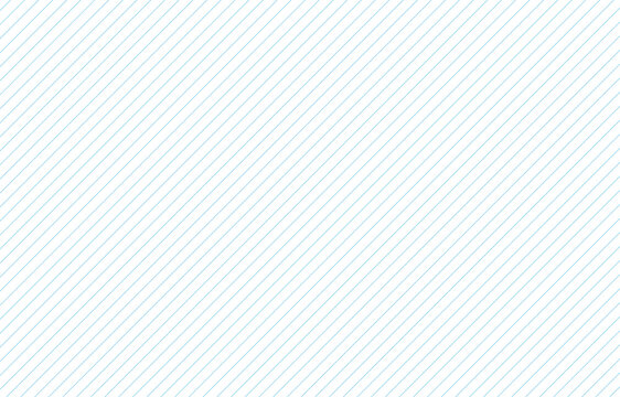 Blue diagonal thin lines pattern seamless on white abstract background vector
