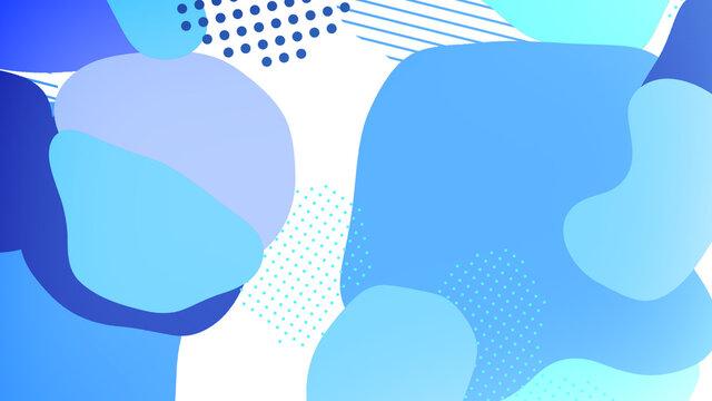 pop color paint splash pattern geometric design trendy  background01