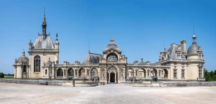 Entrée du château de Chantilly