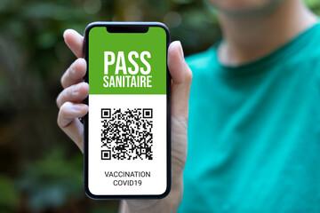 Fototapeta pass sanitaire obraz
