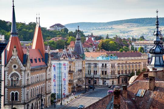 Cluj-Napoca city center, Cluj-Napoca, Transylvania, Romania