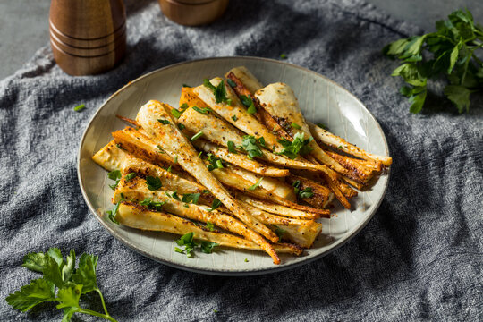 Healthy Homemade Roasted Parsnips