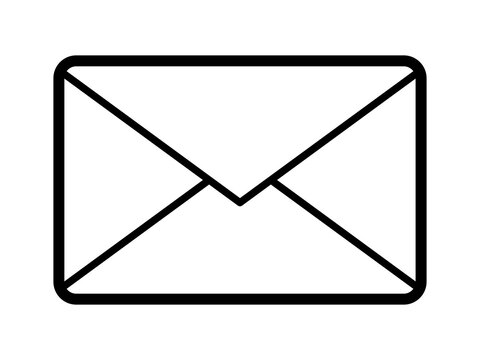 メール、手紙のアイコン