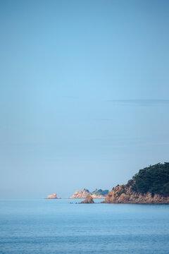 바다 위 외로운 섬