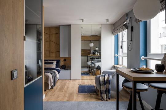 Modern and stylish studio apartment