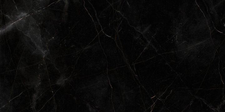 Textured of the black marble background. Gold and white patterned natural of dark gray marble texture. black Pietra Italian marbel texture background. Black marble gold pattern luxury. dark grey.