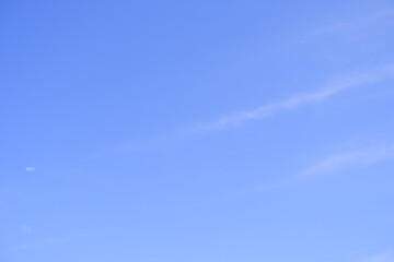 Sky with clouds. Suitable for backgrounds. Sky texture.