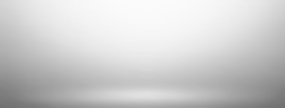 Empty gray studio room vector background. Can be used for display or montage your products