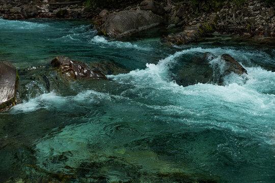 Slowenien 2021 Sommer Wildwasser Fluss  (1) Bovec