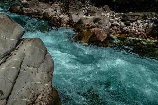 Slowenien 2021 Sommer Wildwasser Fluss  (4) Bovec
