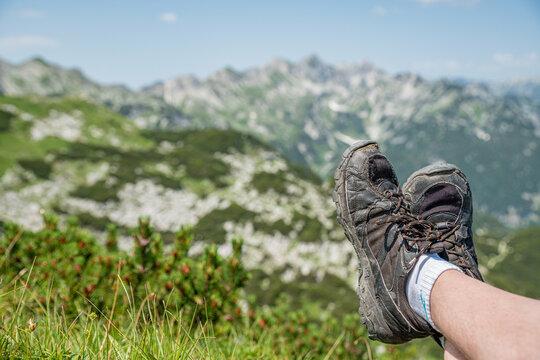 Wandern Schuhe Slowenien Sommer 2021