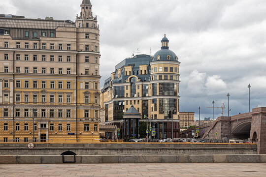 Balchug Hotel, Bank of Russia in the center of Moscow