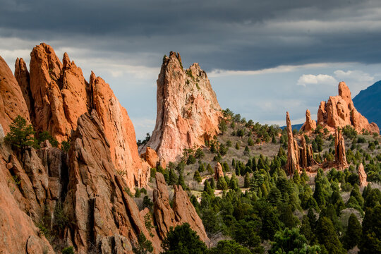 Garden of the Gods rock formations