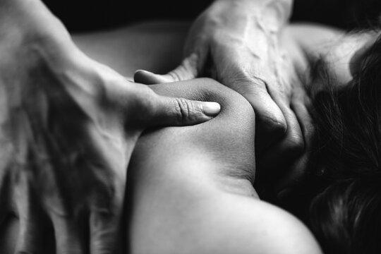 Deep Tissue Massaging.