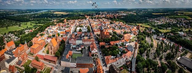 Fototapeta Panorama Chełmna obraz