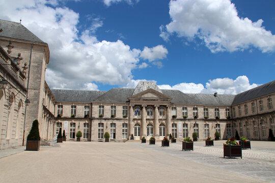 stanislas' castle in commercy in lorraine (france)