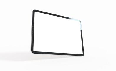 Fototapeta  tablet, isolated on 3d background white ipad tablet pc obraz