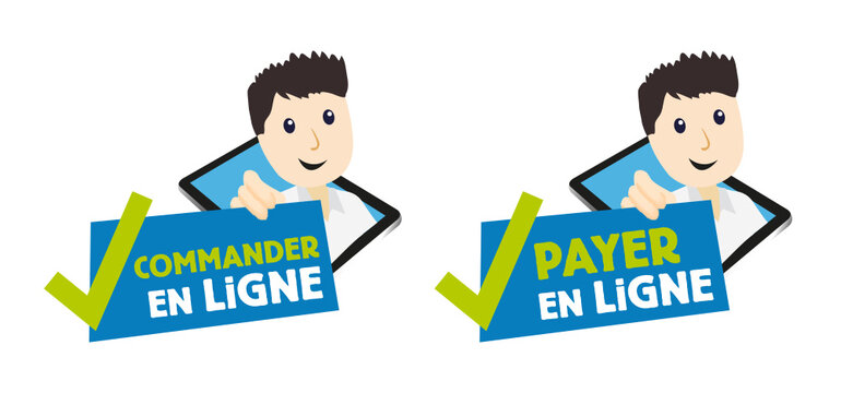 Payer, commander en ligne