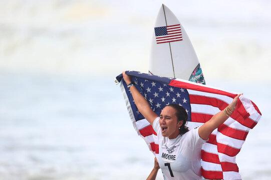 Surfing - Women's Shortboard - Gold Medal Match
